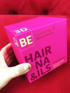 [HCM]3D Hair & Nails Cube - Bổ sung dưỡng chất cho móng và tóc - Siberian Shop thumbnail