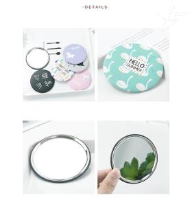 COMBO 2 Gương tròn mini, bỏ vừa túi xách siêu tiện lợi, gương trang điểm, gương soi, chỉnh mắt mascara 11.GMN thumbnail