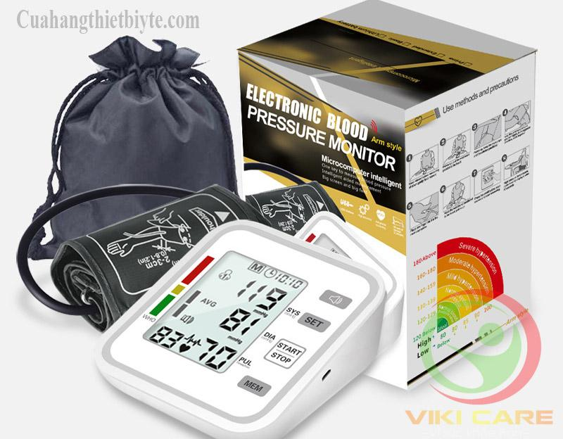 Máy Đo Huyết Bắp Tay Điện Tử  Pressure Monitor bán chạy