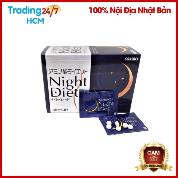 Viên uống giảm cân Night Diet Orihiro NỘI ĐỊA NHẬT BẢN cao cấp