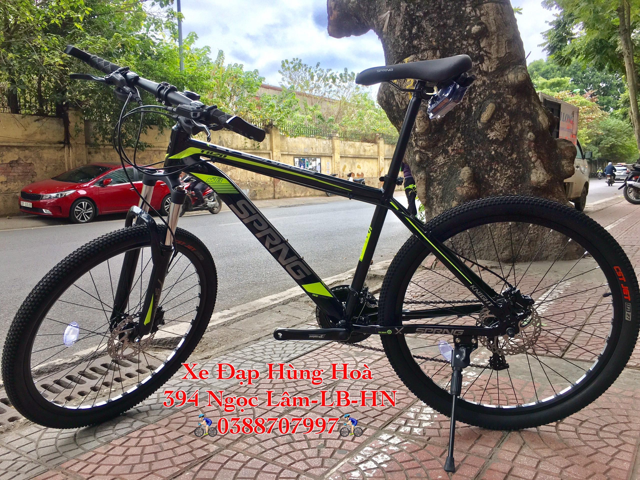 Mua Xe đạp thể thao cao cấp SPRNG Phanh Dầu Khung Nhôm Xách Tay