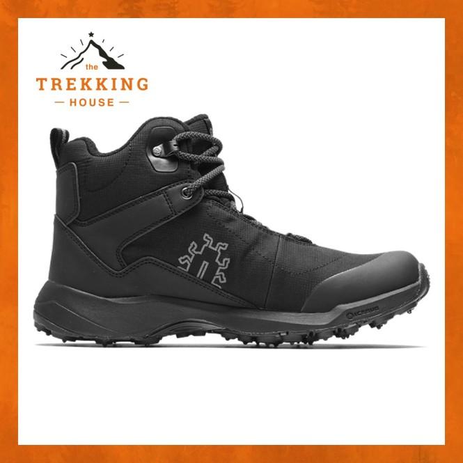 Giày leo núi trekking cổ lửng chống thấm nước, giày phượt dã ngoại Icebug Pace3 BUGrip GTX Đen giá rẻ
