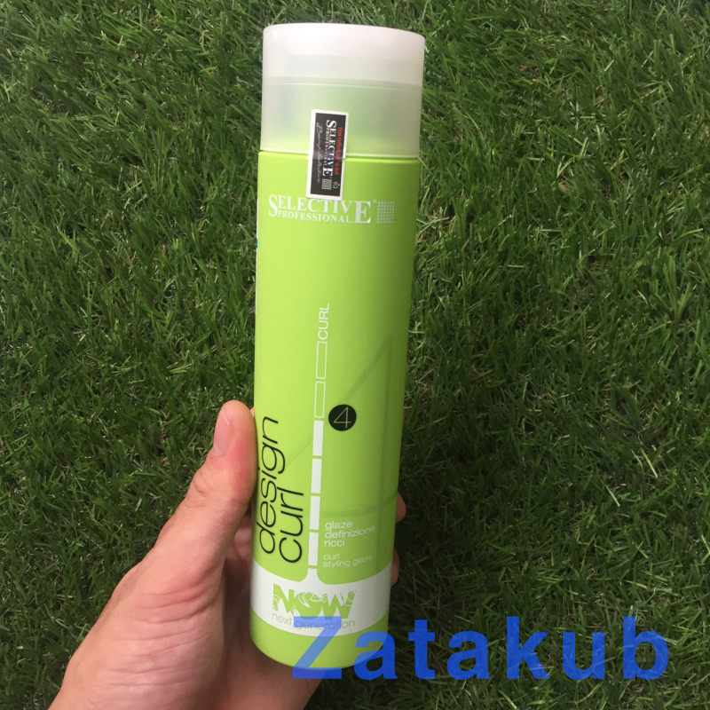 Gel Tạo Kiểu Tóc Xoăn Now Design Curl Selective 250ml nhập khẩu