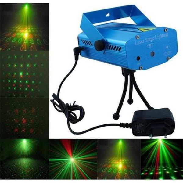 Đèn chiếu Larer mini - LASER LIGHTING Pro cao cấp, nhấp nháy theo nhạc - Giá rẻ, chất lượng