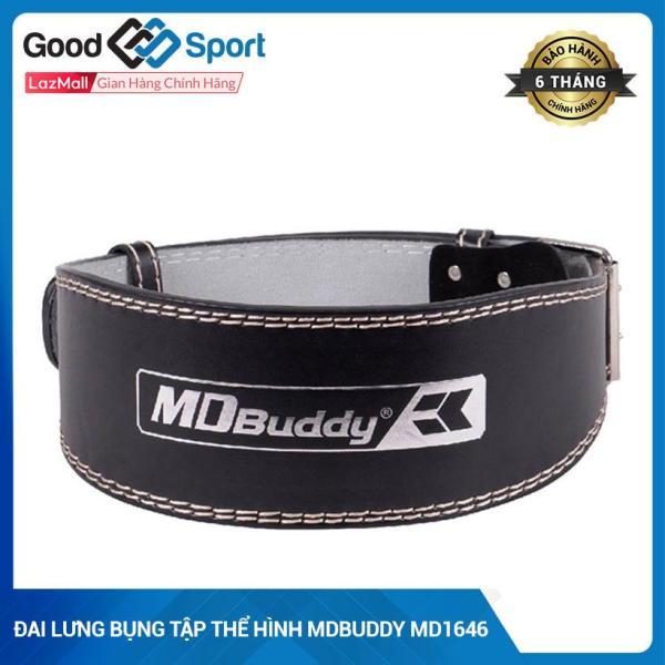 Bảng giá Đai lưng tập GYM, gánh tạ chuyên nghiệp cho nam và nữ- Đai lưng da tập gym cao cấp MDBuddy MD1646