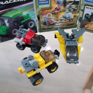 Đồ chơi trẻ em xếp hình LEGO CITY lắp ráp các loại xe ô tô từ 27 đến 32 chi tiết nhựa ABS cao cấp cho bé từ 4 tuổi trở lên phát triển trí tuệ và sáng tạo - Giới hạn 5 sản phẩm khách hàng 5