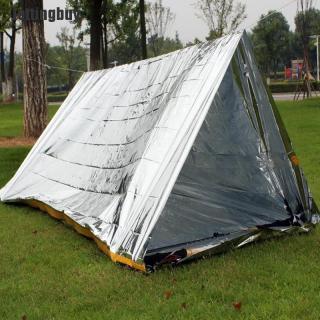 Jettingbuy Lều Có Thể Gập Lại Nơi Trú Ẩn Cắm Trại Đi Bộ Đường Dài Sinh Tồn Khẩn Cấp Ngoài Trời Không Thấm Nước thumbnail