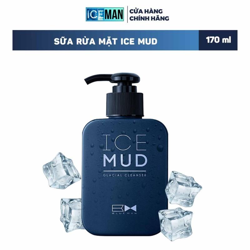 Sữa Rửa Mặt Nam Ice Mud BLUEMAN - Ngăn Ngừa Mụn & Phục Hồi Da Tổn Thương ZL38