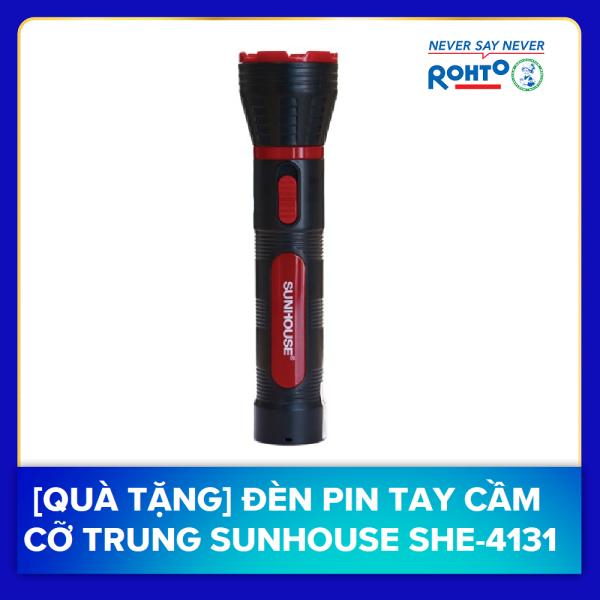 [QUÀ TẶNG] Đèn Pin Tay Cầm Cỡ Lớn Sunhouse SHE-4111
