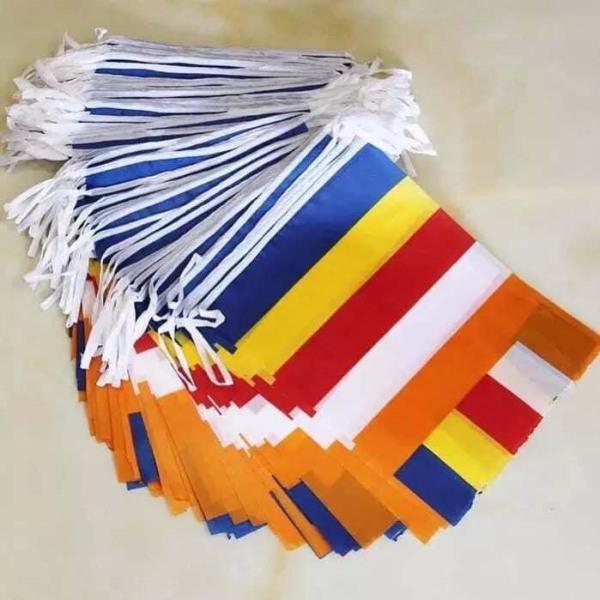 cờ treo Phật Giáo ( gói 50 lá )
