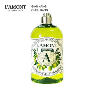 Sữa tắm Olive (hương ô liu) 500ml - L Amont En Provence thumbnail