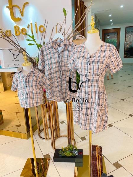 Set váy thiết kế bbr sang chảnh cho mẹ và bé