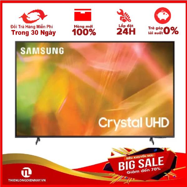 Bảng giá [GIAO HÀNG 2 - 15 NGÀY, TRỄ NHẤT 15.08] [Trả góp 0%]Smart Tivi Samsung 4K 50 inch UA50AU8000 Mới 2021 - Remote thông minh (tìm kiếm bằng giọng nói có hỗ trợ tiếng Việt)