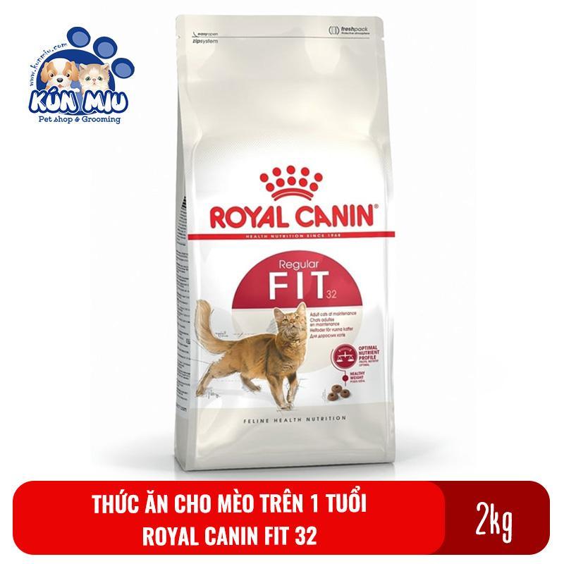 Thức ăn Cho Mèo Trưởng Thành Trên 1 Tuổi Royal Canin Fit 32 Túi 2kg Đang Có Giảm Giá