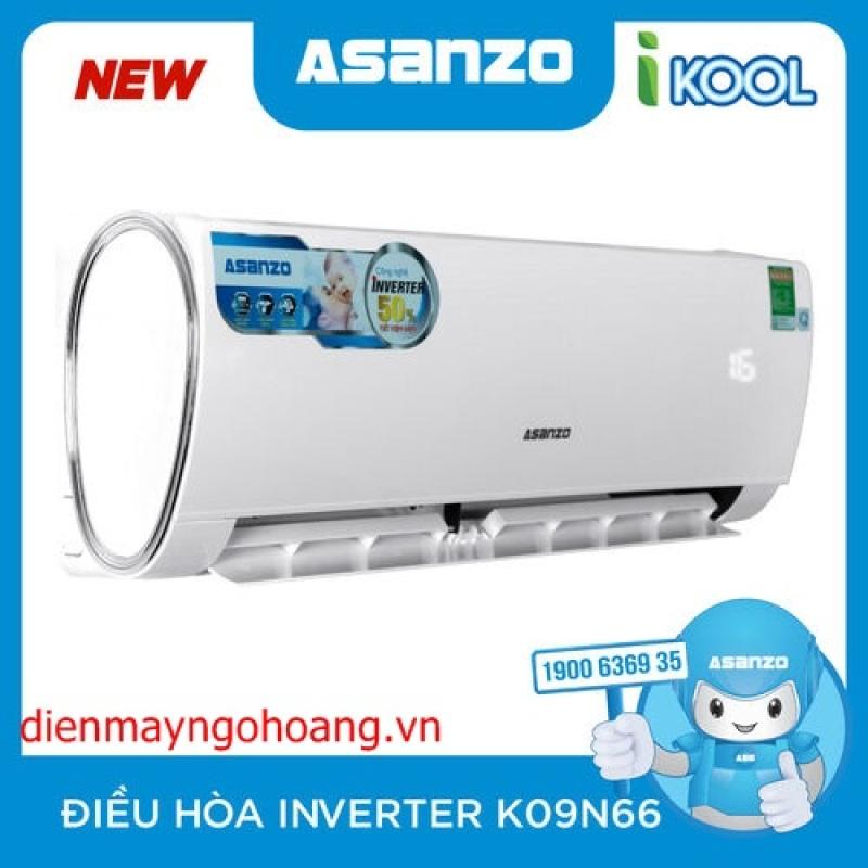 Máy Lạnh Inverter Asanzo K09N66 (1.0HP)
