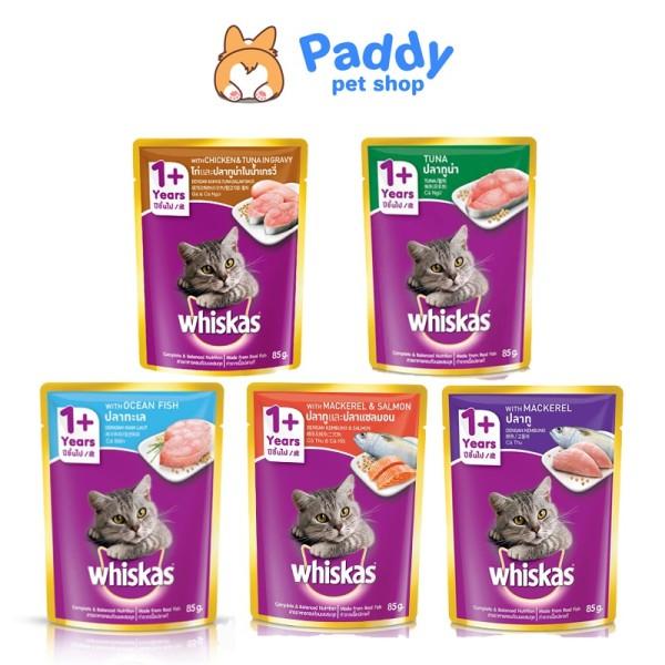 Combo 6 gói pate whiskas cho mèo trưởng thành - 6 Cá ngừ