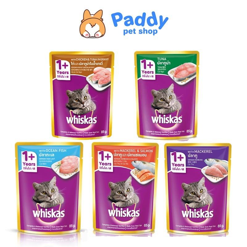 Combo 6 gói pate whiskas cho mèo trưởng thành - 6 Cá thu