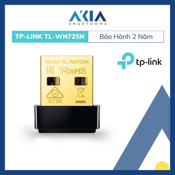 Bảng giá Bộ Thu Sóng Wifi Bằng USB TL-WN725N Chuẩn N Tốc Độ 150Mbps - Hàng Chính Hãng Phong Vũ