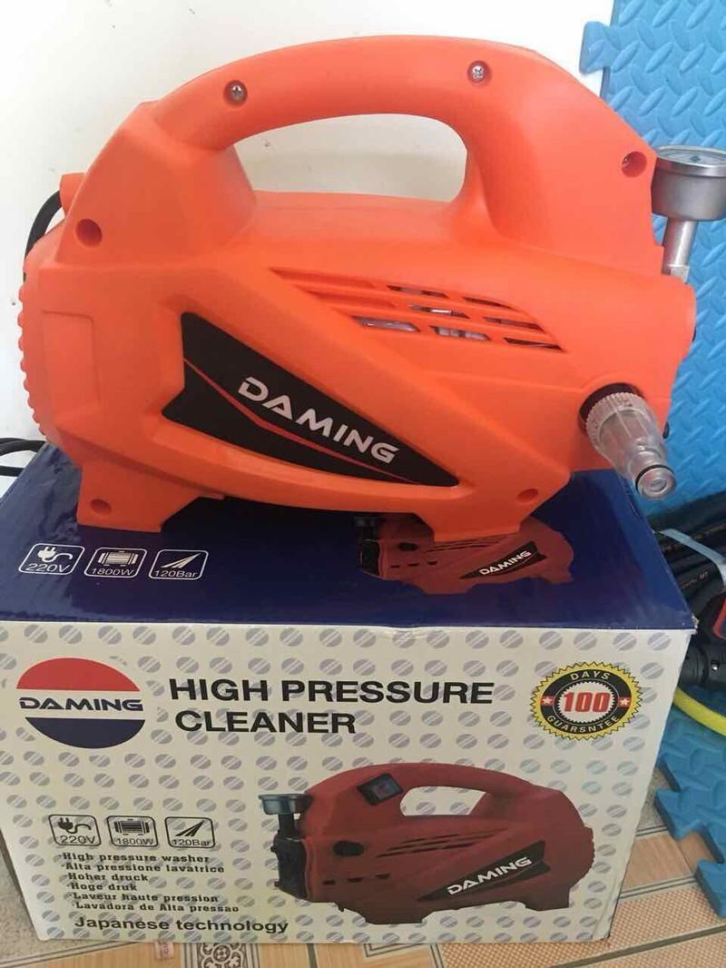 Máy bơm xịt - rửa xe áp lực cao công suất 1800W