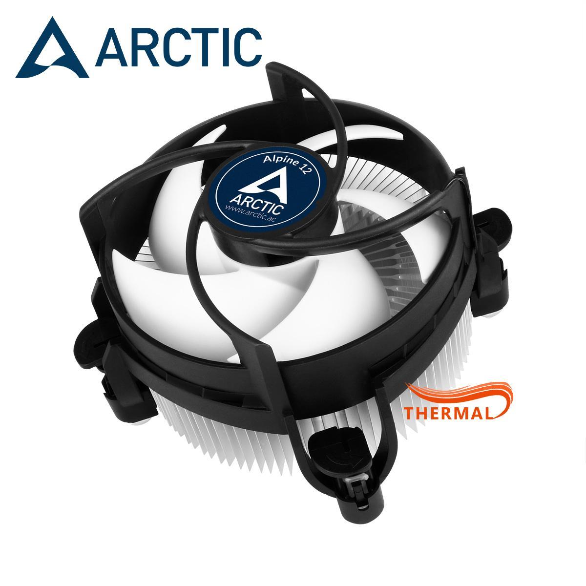 Quạt Tản Nhiệt Cpu Arctic Alpine 12 [ThermalVN] - Hiệu Năng Tốt, Quay Êm, Tuổi Thọ Cao