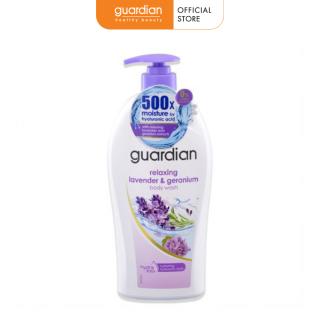 Sữa tắm Guardian thư giãn Hoa Oải Hương và Phong Lữ 1000ml thumbnail