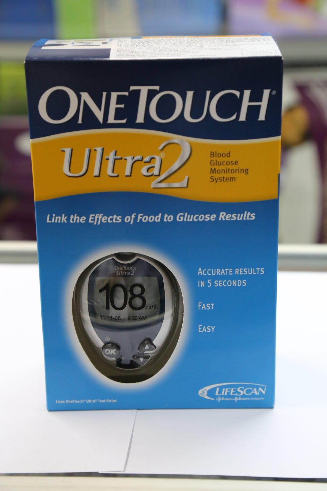 Máy đo đường huyết Lifescan Onetouch Ultra 2 bán chạy