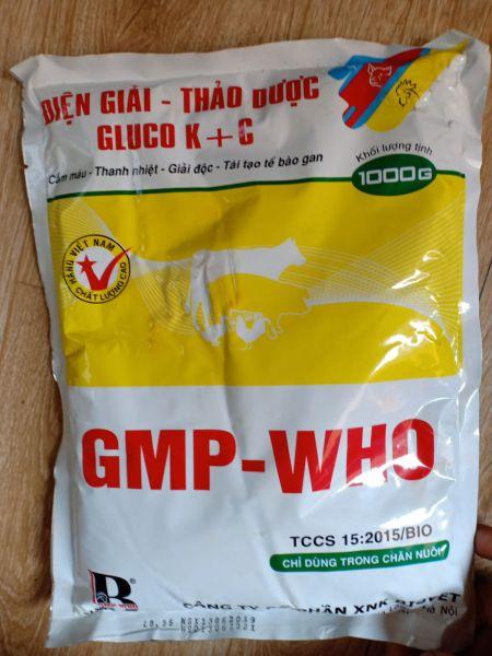 Điện giải thảo dược gluco k+c - 1 kg