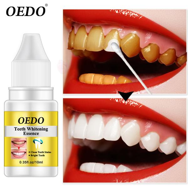 OEDO Tinh Chất Làm Trắng Răng Bột Làm Sạch Răng Miệng Huyết Thanh Làm Sạch Loại Bỏ Vết Bẩn Mảng Bám Tẩy Trắng Răng Dụng Cụ Nha Khoa Kem Đánh Răng