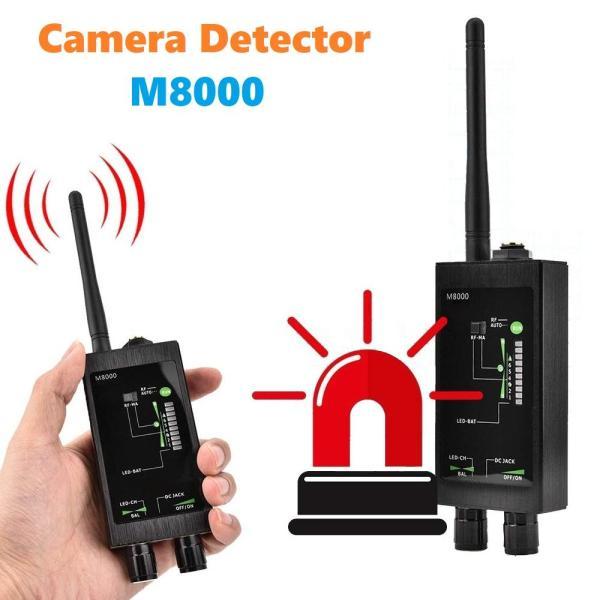 Thiết bị phát hiện máy ghi âm, camera wifi M8000 - Máy phát hiện camera , máy ghi âm M8000 - Máy dò đa chức năng chống g.ián điệp M8000