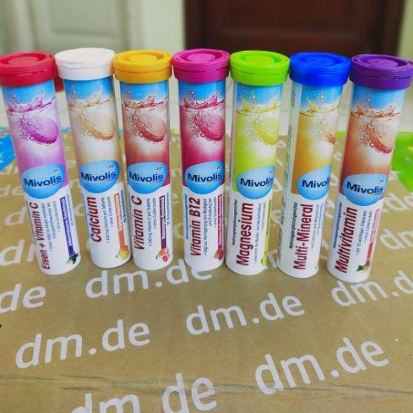 Viên sủi Mivolis không đường bổ sung vitamin của Đức (ib chọn màu) cam kết hàng đúng mô tả chất lượng đảm bảo an toàn đến sức khỏe người sử dụng đa dạng mẫu mã màu sắc kích cỡ giá rẻ