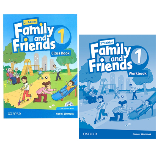 Mua COMBO (2 cuốn Class book + work book) Family And Friends 1 - 2nd Edition