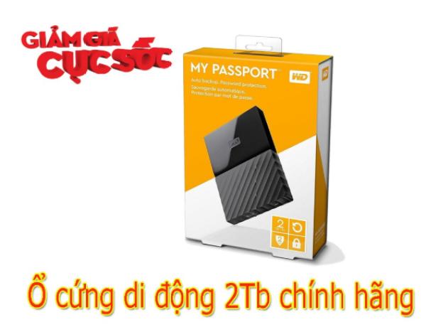 Bảng giá Ổ CỨNG DI ĐỘNG 2TB Phong Vũ