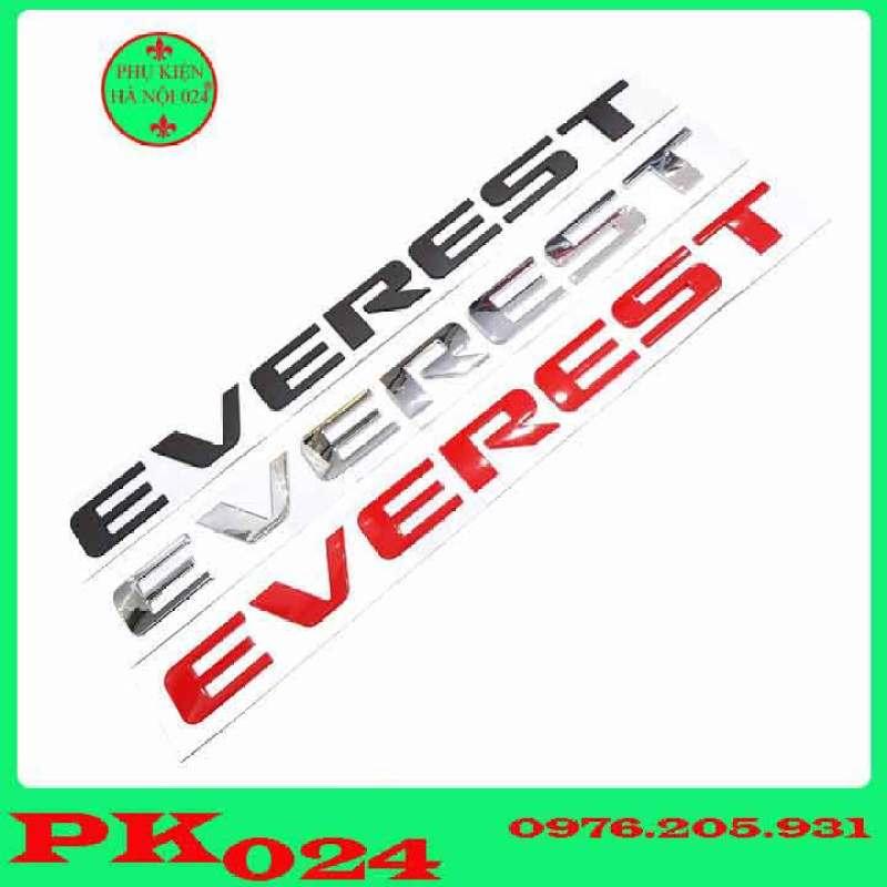 Tem Dán Capo, Logo Chữ Nổi Dán Capo 3D Cho Các Loại Xe - EVEREST
