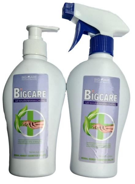 COMBO 2 chai nước rửa tay kháng khuẩn ( chai đục 250ml, vòi nhấn và vòi xịt ) dung tích 1chai 250ml.