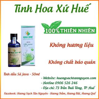 [CHÍNH HÃNG] Tinh dầu Hoa Nén Sả Java Chai lớn 50ml 100ml dùng đèn xông tinh dầu - Tinh dầu thiên nhiên 100% - Tinh Hoa Xứ Huế thumbnail