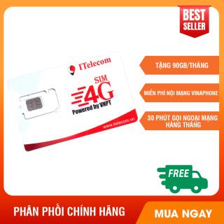 Sim 4G Vina gói 3GB ngày (90GB tháng) hãng Itelecom + - Giống như sim 4G Vinaphone VD89P (VD89 Plus) Kalyhouse. thumbnail
