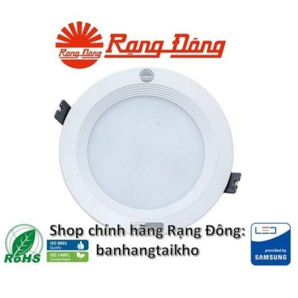 Đèn Âm Trần Đổi Màu 9W/110 Rạng Đông, Chipled Samsung, Vỏ Nhôm Đúc