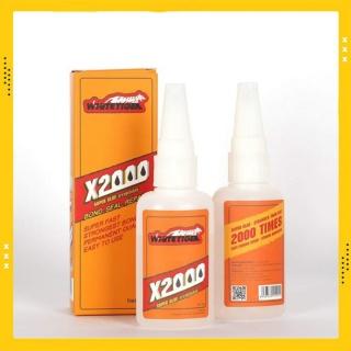 Keo dán đa năng siêu dính X2000 dán được mọi vật liệu - Keo X2000 dán gỗ, thủy tinh, kim loại thumbnail