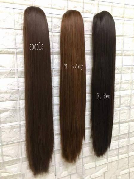 Ngoạm tóc giả thẳng siêu đẹp cao cấp