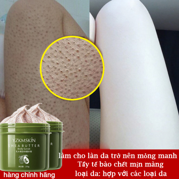 Muối tắm tẩy tế bào chết Salt Thái Lan YZKMSKIN Tẩy Da Chết Body Giúp Mịn Sáng Da Dưỡng Ẩm Làm Trắng Da cải thiện da thô ráp Tẩy tế bào chết mịn màng cao cấp