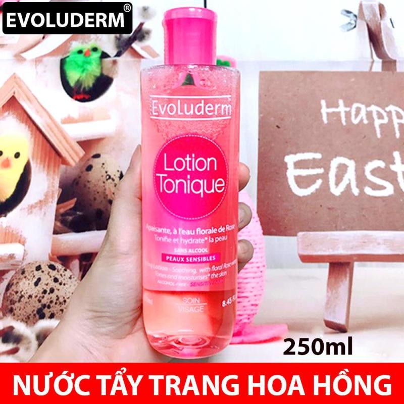 Nước Tẩy Trang Hoa Hồng EVOLUDERM LOTION TONIQUE 250ML cao cấp