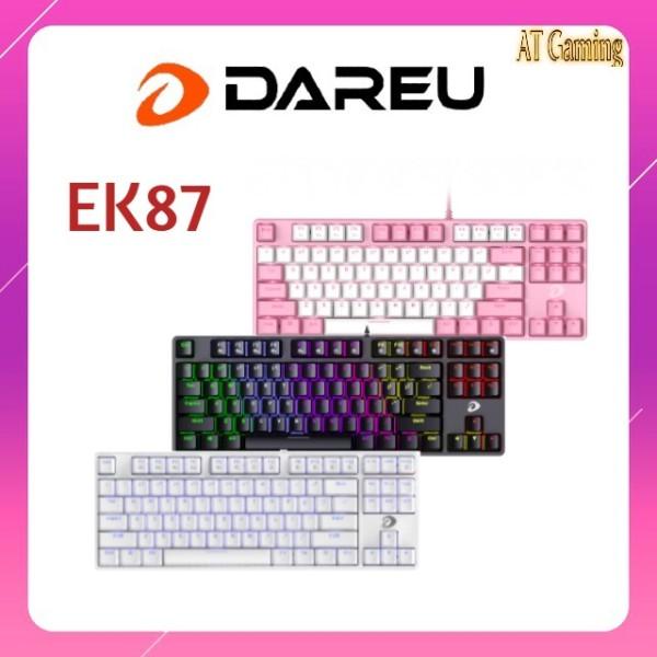 Bảng giá Bàn phím cơ Gaming DAREU EK87 - Black / White / Pink-White Phong Vũ