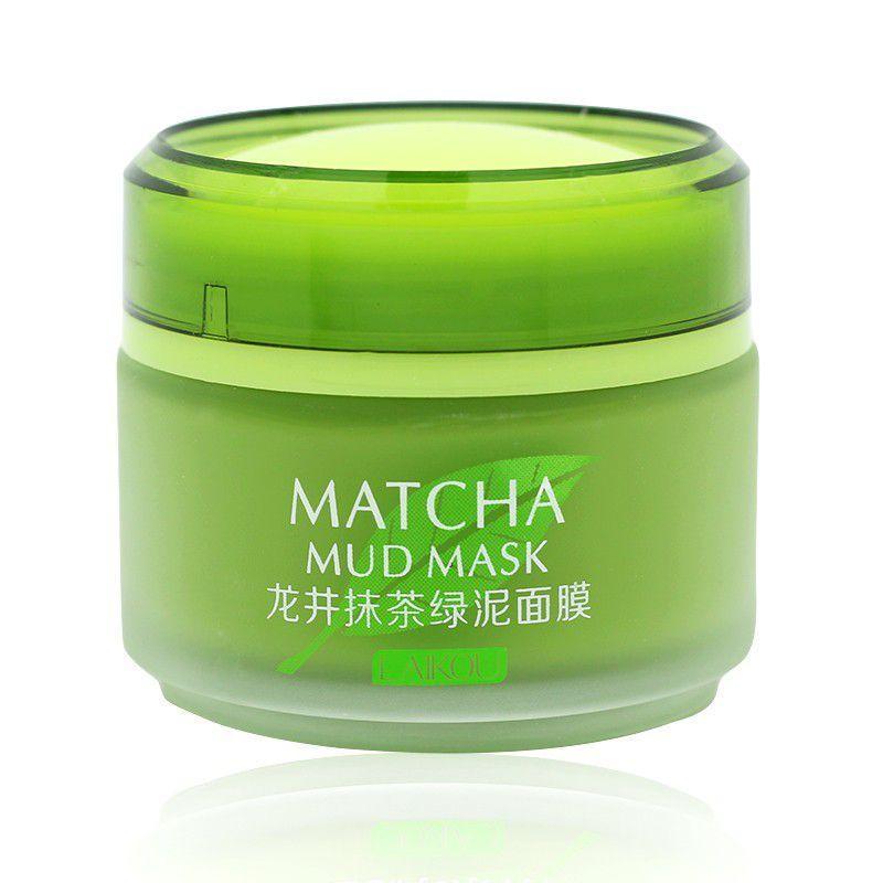 Mặt Nạ Bùn Matcha Mud Mask Hàn Quốc Chiết xuất Trà xanh sạch sâu, ngừa mụn Laikou 85g