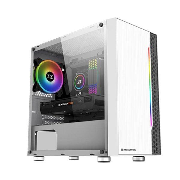 Bảng giá Vỏ Case Xigmatek Gemini ARCTIC RGB STRIP (Mini Tower/Màu Trắng) Phong Vũ