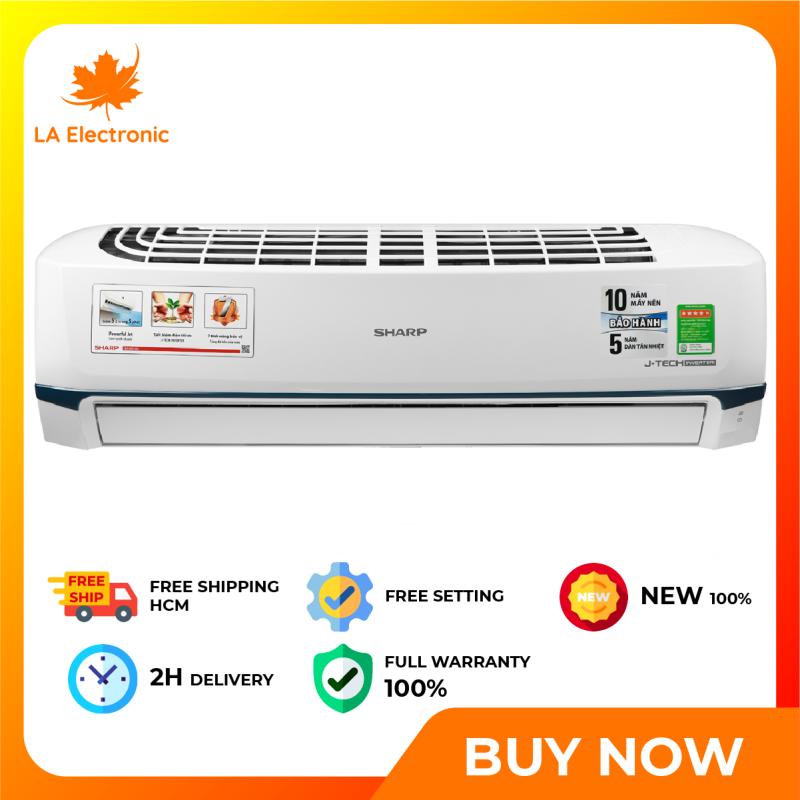 Trả Góp 0% - Máy Lạnh - Sharp Inverter 2 HP Air Conditioner AH-X18XEW Full VAT - Miễn phí vận chuyển HCM