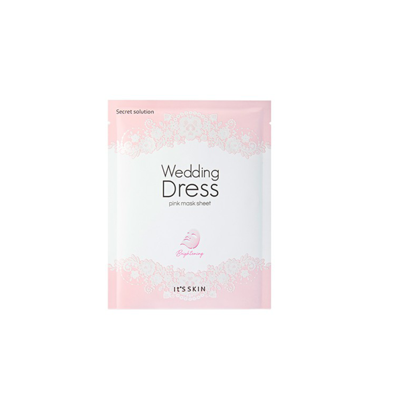 Mặt nạ ITS SKIN SECRET SOLUTION WEDDING DRESS PINK MASK giá rẻ