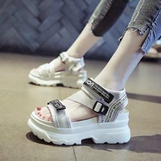 (Video 2 màu) Sandal nữ,sandal học sinh độn đế 5p fashion kiểu dáng mới siêu đẹp 5