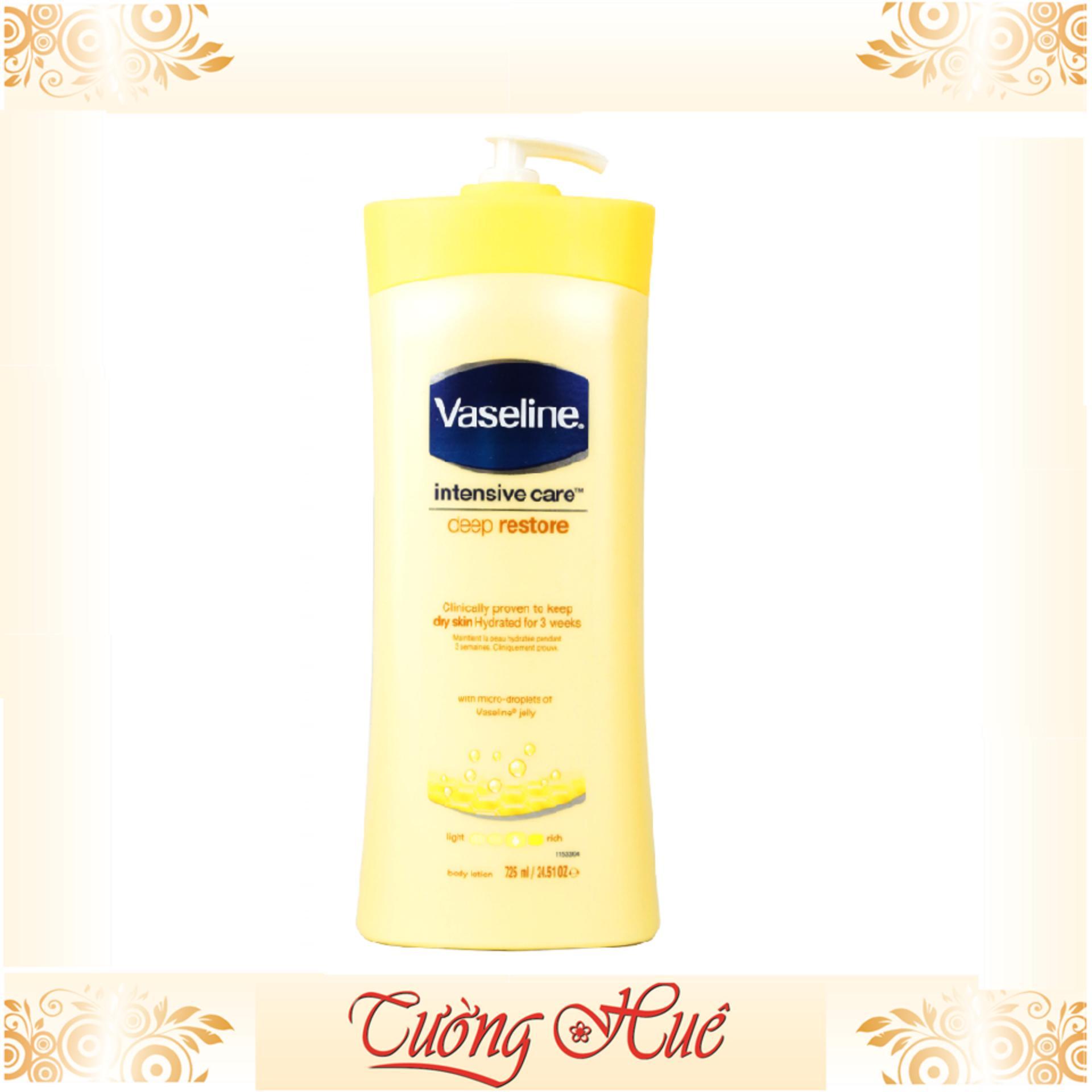Dưỡng thể Vaseline total moisture 725ml - vàng tốt nhất