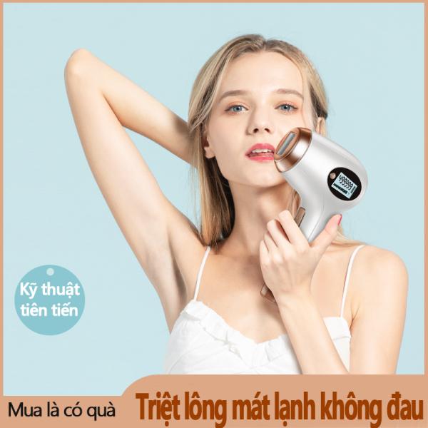 Máy triệt lông cho nữ Bosidin siêu êm dịu cho da triệt lông không đau BOSIDIN