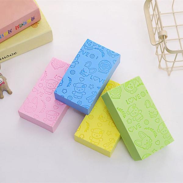 Mút tắm kì ghét Hàn Quốc PORORO nhiều màu dễ thương, đồ dùng nhà tắm, phụ kiện vệ sinh cơ thể, dụng cụ kì lưng (MT04), Huy Linh cao cấp